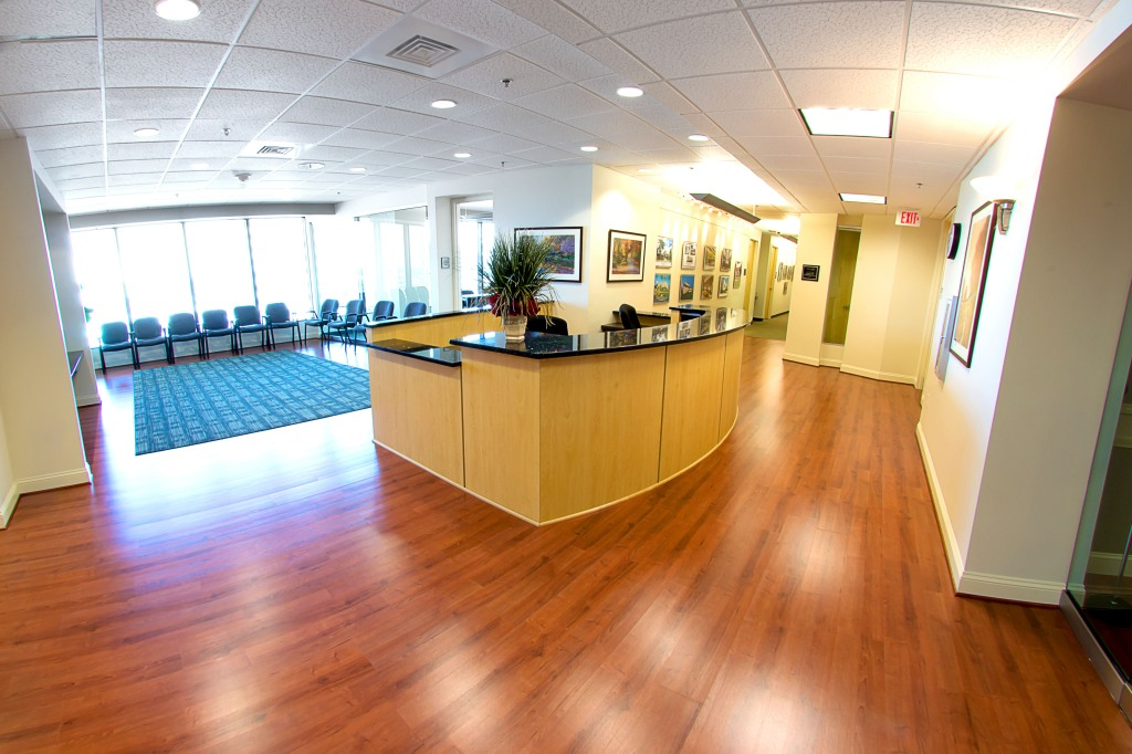 commercial real estate photography : lobby
