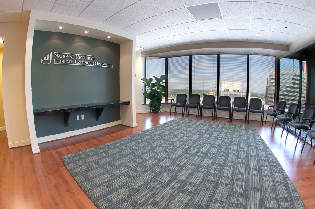 commercial real estate photography : lobby waiting room