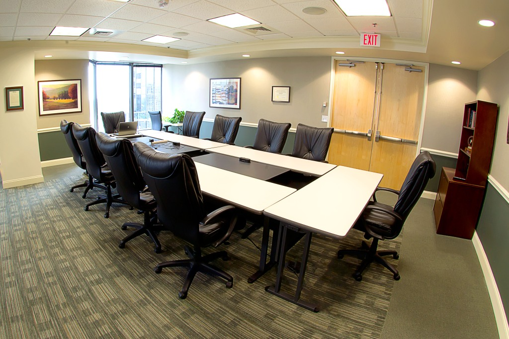 commercial real estate photography : conference room