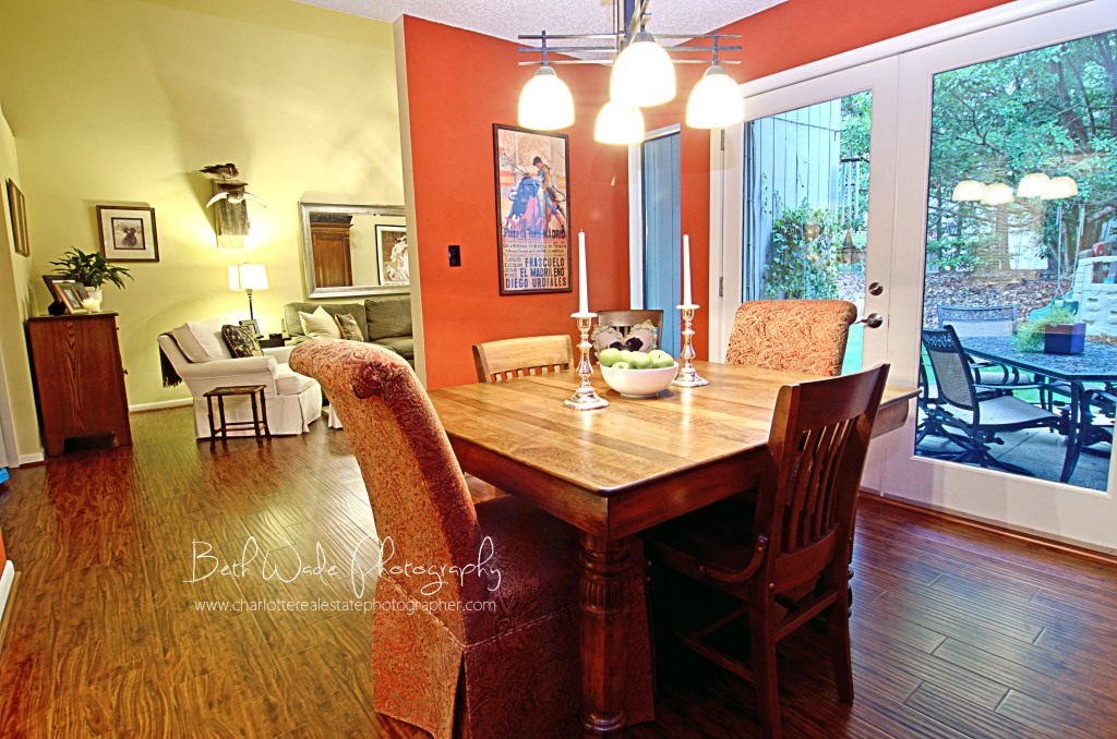 charlotte real estate photographer - river hills condo